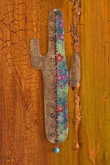 Cowboy Cactus Ornament