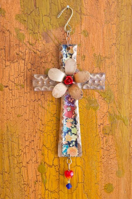 Celtic Flower Cross