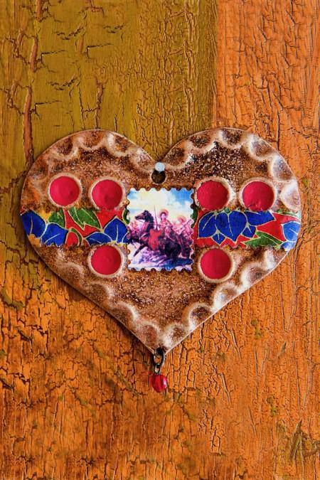 Cowboy Heart Ornament