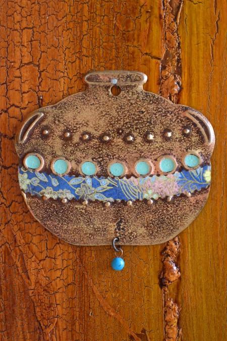 Cowboy Pot Ornament