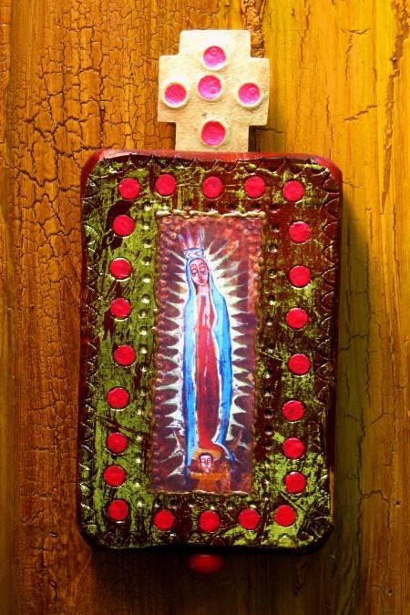 Guadalupe Wood Retablo