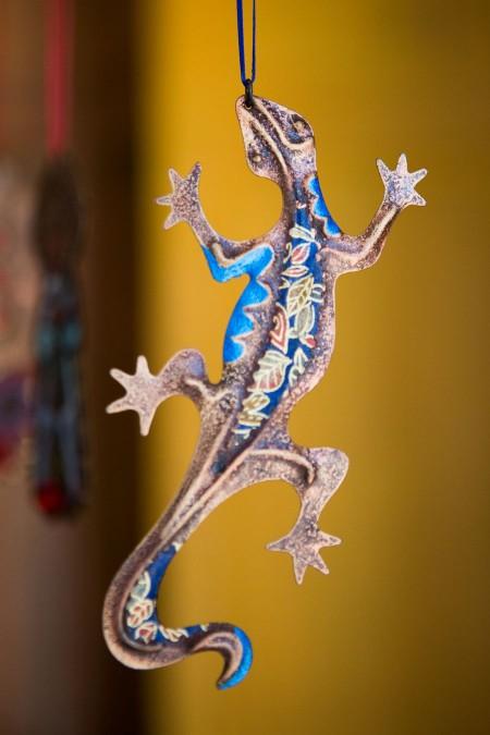 Mimbres Lizard Ornament