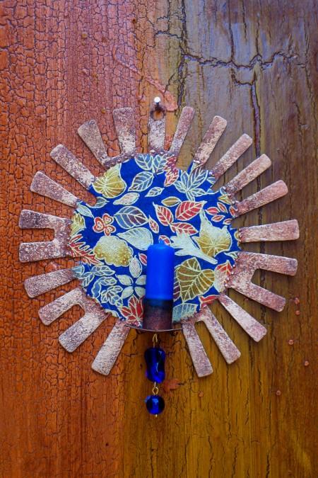Old Sunburst Sconce Ornament