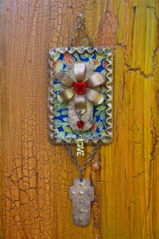 Retablo Keepsake Cross