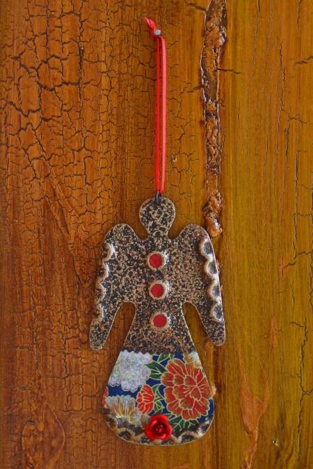 Standing Angel Ornament