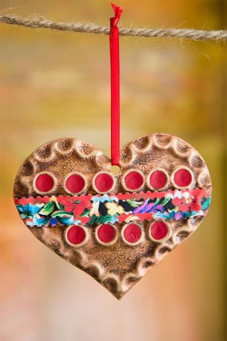 Sundance Heart Ornament