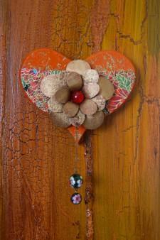 Wood Heart (S)