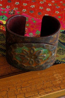 Patinaed Ranch Style Cuff