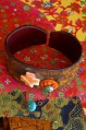 Spiny Oyster Cross -Turquoise Cuff A