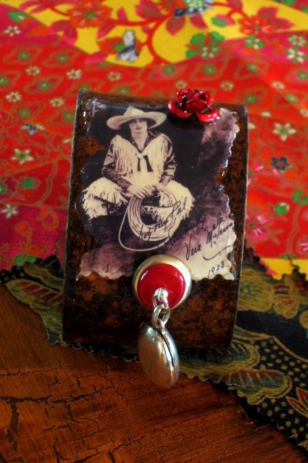 Cowgirl Locket Cuff