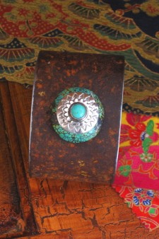Sterling Silver Turquoise Ranch Style Cuff A